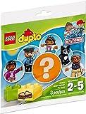 LEGO- Duplo 30324: Set mit 5 Verschiedenen Beuteln (Figuren: Mann, Frau, Mädchen, Polizist, Katze)