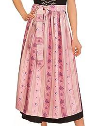 9932c24207a7b8 M.Stützle Trachten Dirndl Schürze - SC360 - apfelgrün, rosa