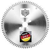 jjw-germany HM - Kreissägeblatt Noel 250 x 30 Z= 80 TF negativ für Aluminium oder Kunststoffprofile, 1 Stück, 4250980600882