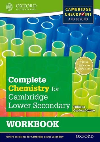 IGCSE complete chemistry for Cambridge secondary 1. Workbook. Per la Scuola media. Con espansione online (Checkpoint Science)