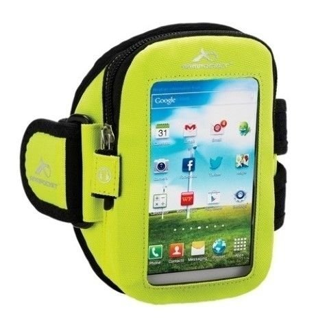 Armpocket Aero i-15 Sports Arm Strap - Fluorescent Yellow, Small/7-11 Inch