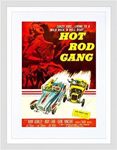 Preisvergleich Produktbild FILM HOT ROD GANG PULP FICTION CRAZY KIDS CAR RACE GENE ART PRINT B12X11333