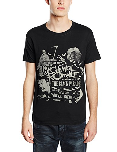 Plastic Head My Chemical Romance Scary-T-shirt  Uomo    nero Small