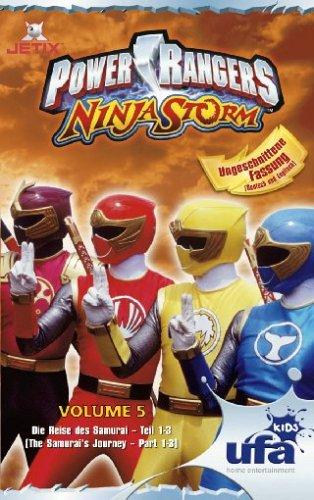Power Rangers - Ninja Storm 05, Folgen 16-18 [VHS] (Power Rangers Vhs)