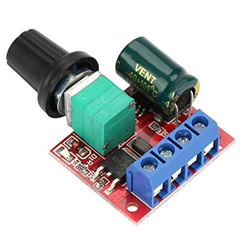 Motor Drehzahlsteller, 5V-28V 5A PWM DC Motordrehzahl Schalter Controller LED Volt Regler