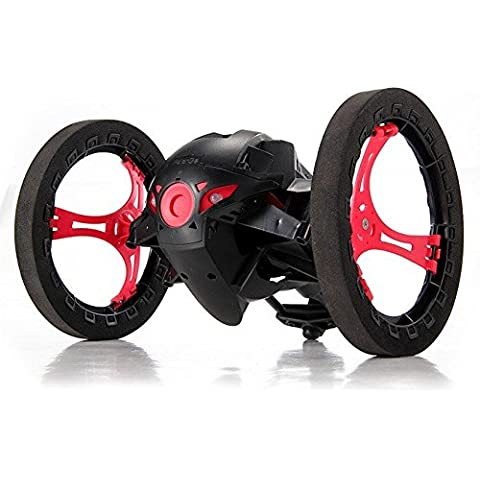 SainSmart Jr. inteligente de rebote Jump Stunt Car con ruedas flexible (Negro)