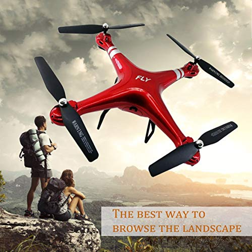JohnJohnsen X52 Wide Angle Lens 0.3MP HD Camera Drone