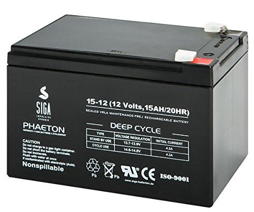 SIGA S15-12 Batterie 12 V/14 mAh