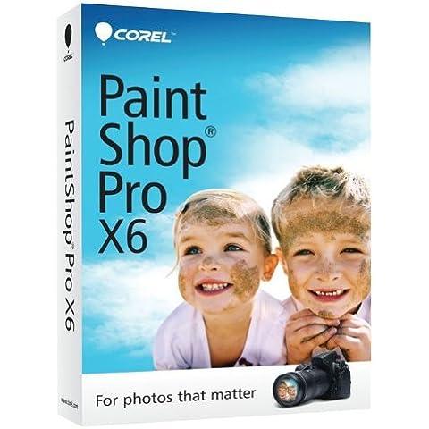 Corel PaintShop Pro X6, EN