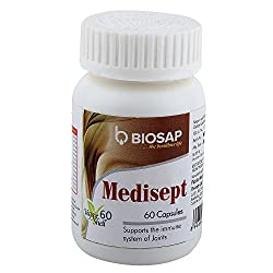 Biosap Medisept Capsule - Anti Allergic, Anti- Viral, Immune defense, 60 vegetable Capsules