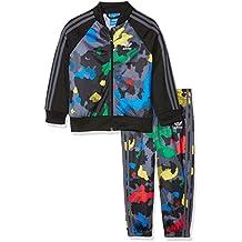 adidas Niños ywf Superstar Chándal, otoño/invierno, infantil, color Multicolor/Black, tamaño 4 años (104 cm)