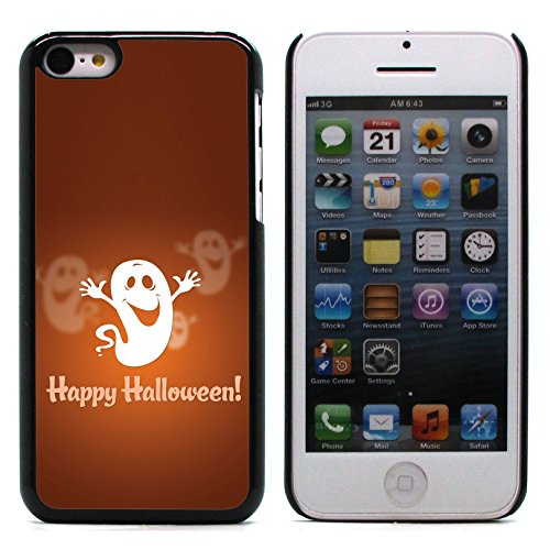 Graphic4You Halloween Allerheiligen Thema Gespenst Design Harte Hülle Case Tasche Schutzhülle für Apple iPhone 5C Design #7