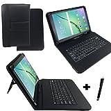 Qwertz Tastatur Tablet Tasche für TrekStor SurfTab duo W1