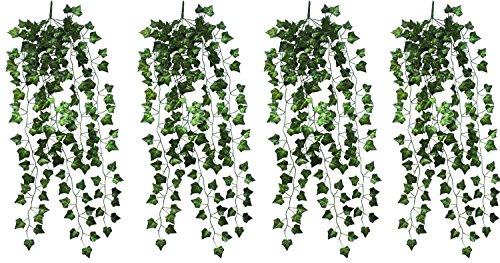 Natural Home Hängende Kunstpflanze 90cm (4er Pack)
