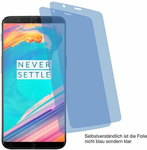 4ProTec 2X ANTIREFLEX matt Schutzfolie für OnePlus 5T Bildschirmschutzfolie Displayschutzfolie Schutzhülle Bildschirmschutz Bildschirmfolie Folie