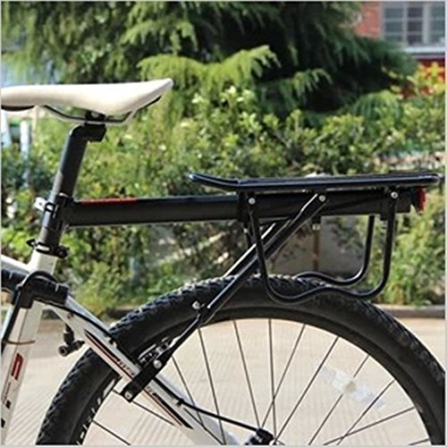 Universal verstellbar Carrier hinten Fahrrad Gepäckträger Fahrrad Zubehör Equipment Ständer footstock Bike Carrier Racks mit Reflektor -