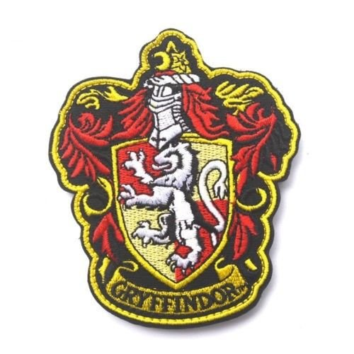 Harry Potter Gryffindor Patch Badge bestickt/Bügelbild bestickt Patch