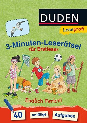 Preisvergleich Produktbild Leseprofi  3-Minuten-Leserätsel für Erstleser: Endlich Ferien!
