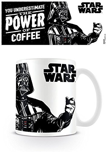 "Pyramid International ""Star Wars (The Power of Coffee)"" offizielle, verpackte Kaffee-/Teetasse aus Keramik, mehrfarbig, 315 ml"