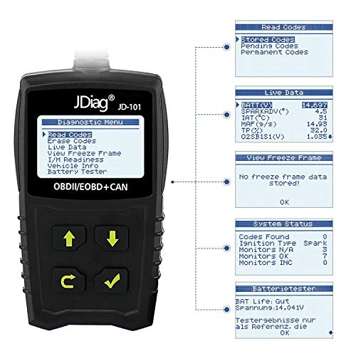 Jdiag JD-101 OBD2