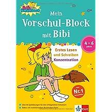 Mein Vorschul-Block mit Bibi Blocksberg: Erstes Lesen und Schreiben, Konzentration. 4 - 6 Jahre