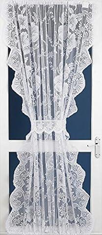 Rideau Roma - Roma dentelle net rideau panneau de porte
