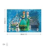 Disney Frozen Elsa Anna Olaf quadri su tela (ppd2280cvfw), O4 - 60cm x 40cm