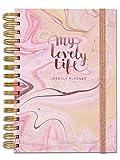Rachel Ellen Designs personal organiser–My lovely Life–A5, agenda settimanale con fare, elenchi, Note, adesivi, tasche