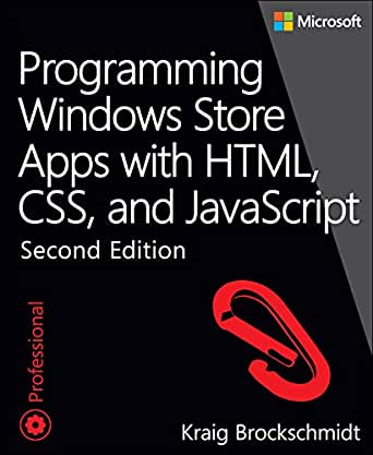 Programming Windows Store Apps with HTML, CSS, and JavaScript (Developer  Reference)