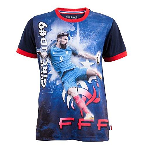 Maillot FFF - Olivier GIROUD - Collection officielle Equipe de France de Football - Taille enfant 4 ans