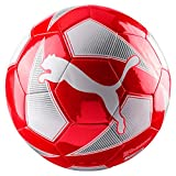 Puma World Cup Licensed Fan Ball, Red/White/Swiss, 5