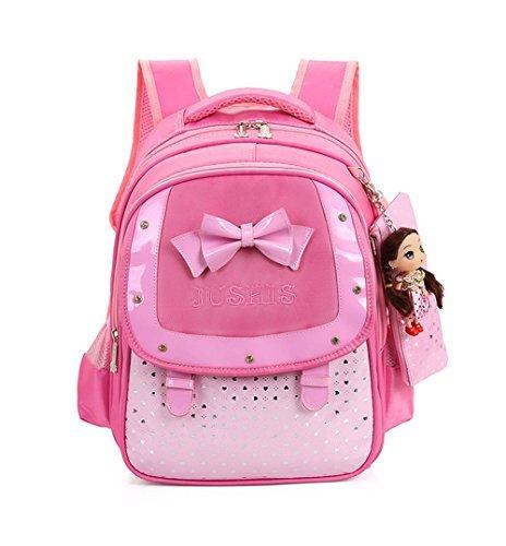 Mojing Elementary School Bags Kids Sweet Princess Cute Backpack for Girls