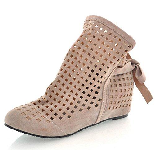 Stiefelparadies Damen Stiefeletten Warm Gefütterte Stiefel Schnürstiefeletten 151513 Schwarz Arriate 37 Flandell WdsE7