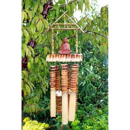 Bambou 6 tubes Med.Buddha. H) : 55 cm x Profondeur : 17 cm-Hauteur : 80 cm, c'est un produit grand et sera transmise via courier. le cadeau Parfait-Idéal pour les anniversaires, Christmas......