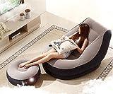 ASZLL Faule NAP kleine Schlafsofa aufblasbare Sofa Einzelbett Balkon Schlafzimmer Betten Herberge faul kreative Freizeit Stuhl , 2