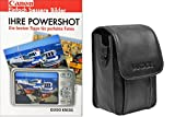 Foto Kamera Tasche VANTAGE LEATHER plus Fotobuch Ihre Canon Powershot für A2400 A2500 A2600 A3400 A3500