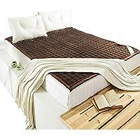 Plegable Colchón Suelo Tatami Colchón de futón Topper de Fibra Multiusos Espesar Keep Warm Colchón Grueso