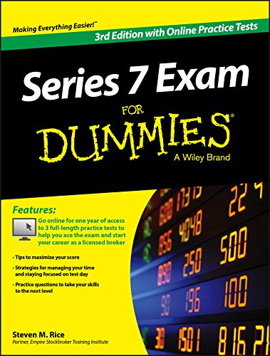 Series 7 Exam For Dummies, with Online Practice Tests por Steven M. Rice