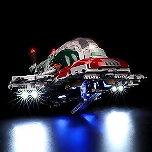 BRIKSMAX Kit di Illuminazione a LED per Lego Star Wars Slave I, Compatibile con Il Modello Lego 75243 Mattoncini da… 0716852283415 LEGO
