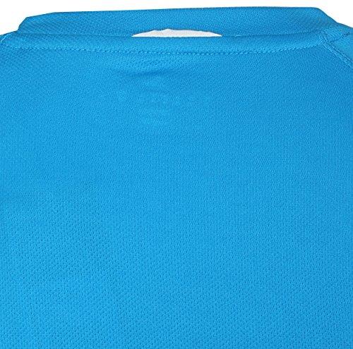 adidas Energy Run Tee BLAU D87047 Grösse: L blau/schwarz