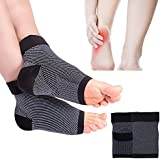 SGM Unisex Foot Compression Sleeves Brace Support for Ankle and Heel