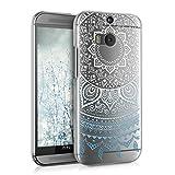 kwmobile Funda para HTC One M8 / Dual - Case plástico para móvil - Cover trasero Diseño Sol...