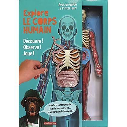 Explore le corps humain : Découvre ! Observe ! Joue ! Avec une splendide maquette transparente du corps humain