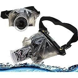 Navitech Housse étui étanche Compatible avec Appareil Photo numérique avec lentille extérieure, Compatible avec Kodak PixPro AZ652