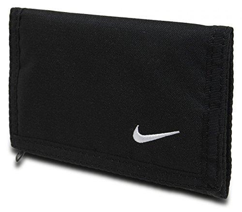 Nike Basic Wallet Geldbeutel, Black/White, One Size