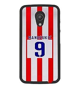 PRINTVISA Football Mandzukic Case Cover for Motorola Moto G 2nd Gen