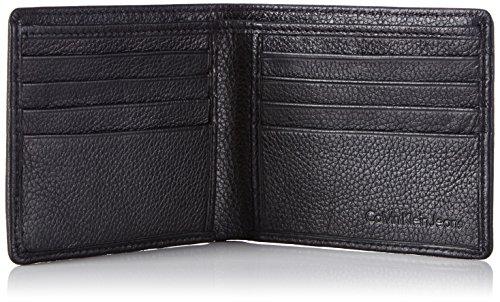 Calvin Klein Jeans SEAL 8CC K50K500727 Herren Geldbörsen 11x9x2 cm (B x H x T) Schwarz (Black 001)