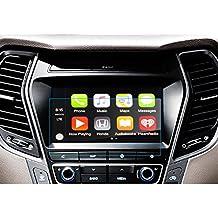 LFOTPP Hyundai Grand Santa Fe 8 pulgadas Navegación Protector de pantalla - 9H Cristal Vidrio Templado
