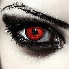 Idea Regalo - Rosse mostro lenti a contatto colorate rosso, morbide, non corrette modello: