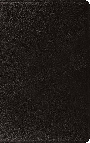 ESV Large Print Thinline Bible (Black)